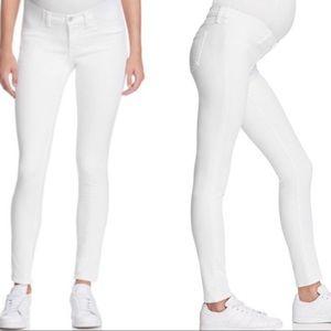 J Brand Maternity Mama J side panel skinny jeans